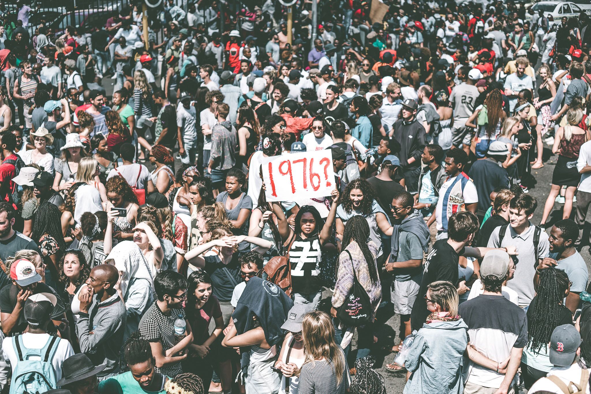 South African photographer Imraan Christian on why #FeesMustFall was just the beginning - The World (BBC/WGBH/PRI)