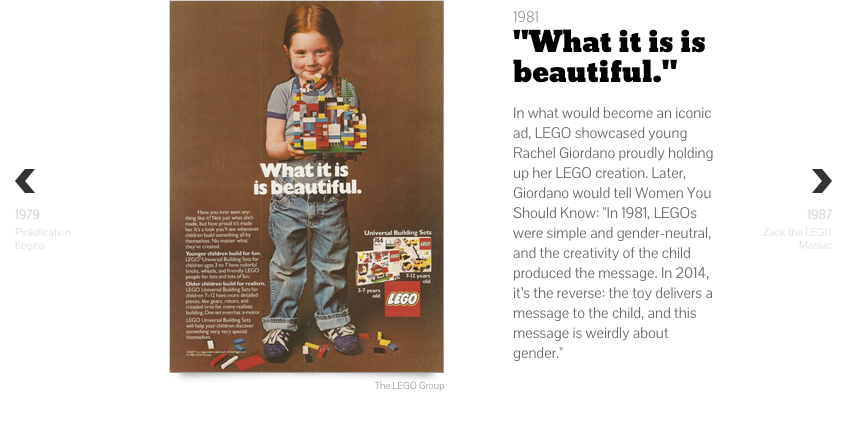 LEGO's messy history of marketing to girls - The World (BBC/WGBH/PRI) +Across Women's Lives