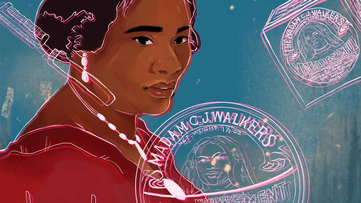 America's First Female Self-Made Millionaire Founded a Black Beauty Empire - VICE/BROADLY