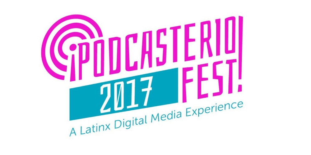 Panelists at the inaugural Podcasterio Festival - The first podcast festival by and for Latinxs
