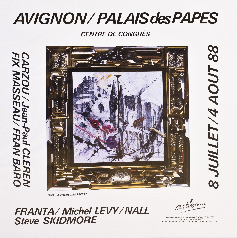 Avignon/Palais des Papes - 1988