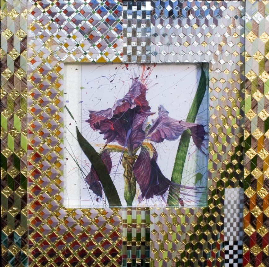 'Iris' - Original W/C-