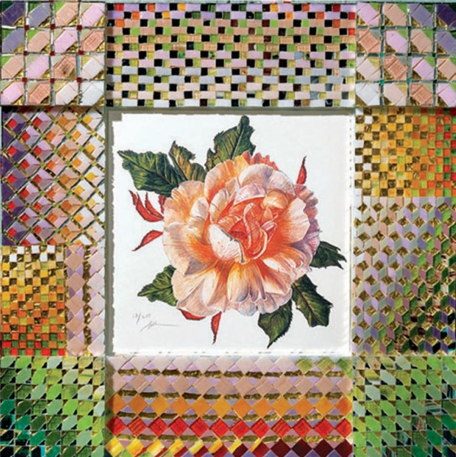 'Rose' - Original W/C -