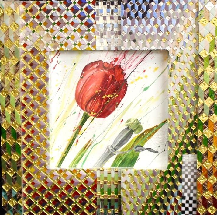 'Tulip 2' -Lithograph -