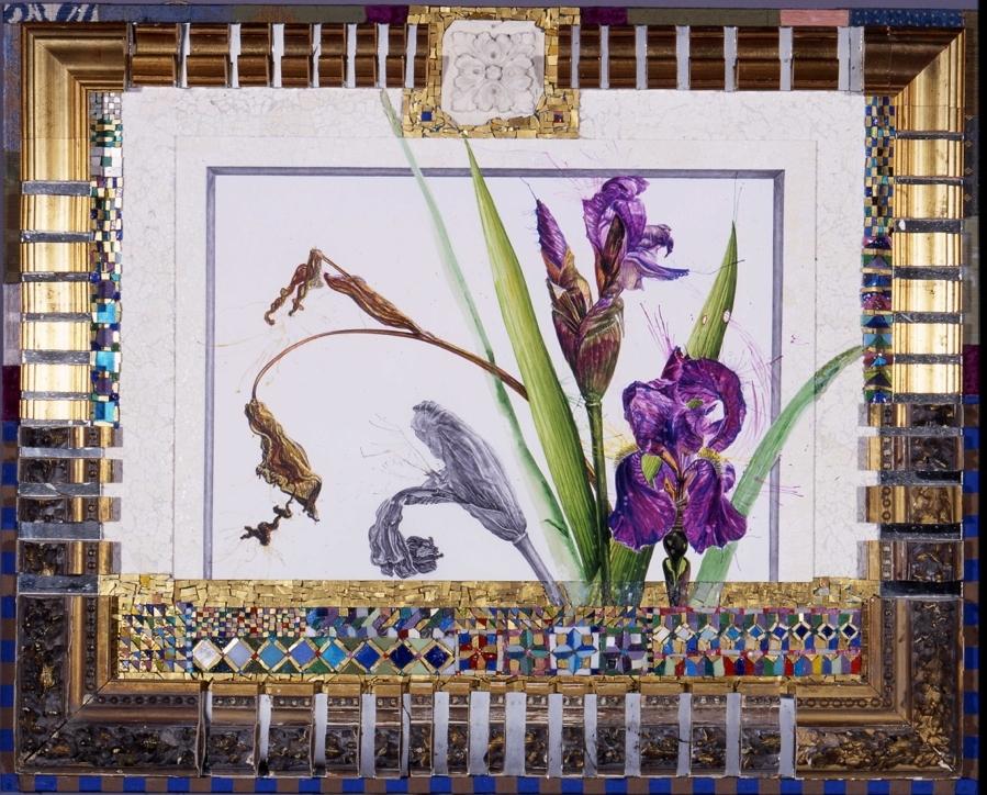 'Irises' - Original W/C -