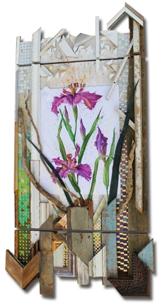 'Purple Water Iris'