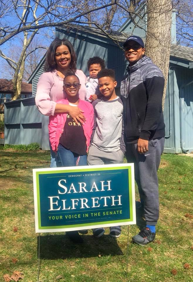 "Johnston family - ""My experience has shown me that Annapolis is in need of new thoughts and strategies. I'm supporting Sarah because she brings the expertise, the relationships, and know how to get it done for our community."