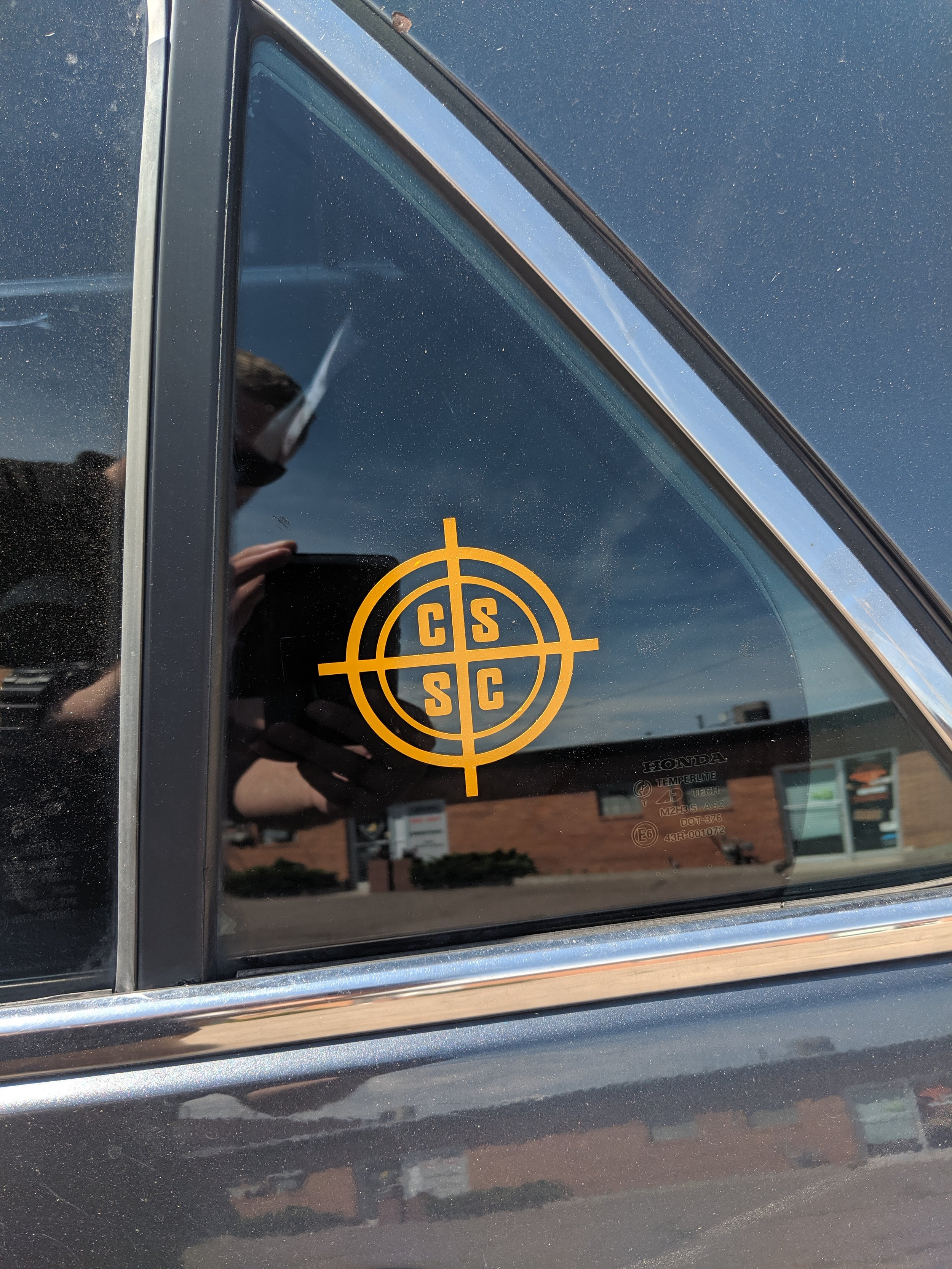 CSSC Crosshairs decal - If we see you with a CSSC decal, we will give you $10 tacticash (or just say $10? - and well give you the $10 tacticash) -