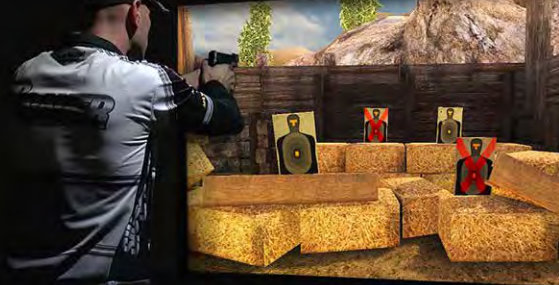 Schedule your time today and come in and shoot on the JTRS Simulator. -