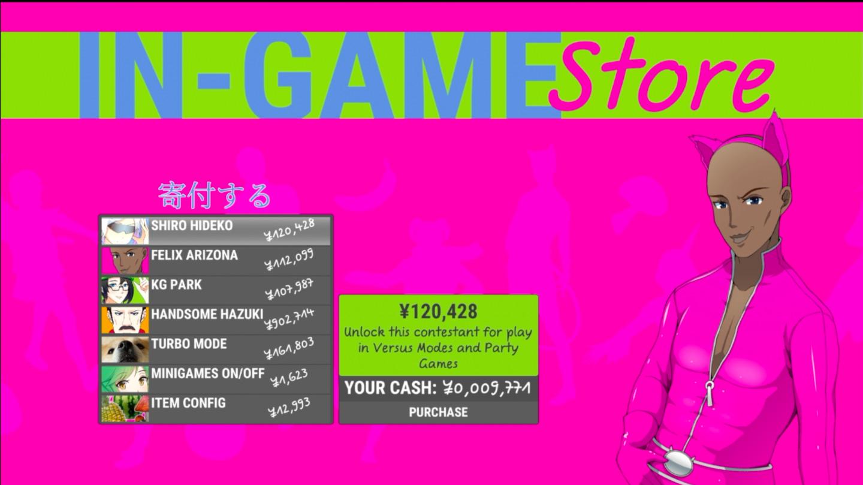game modifiers nippon marathon