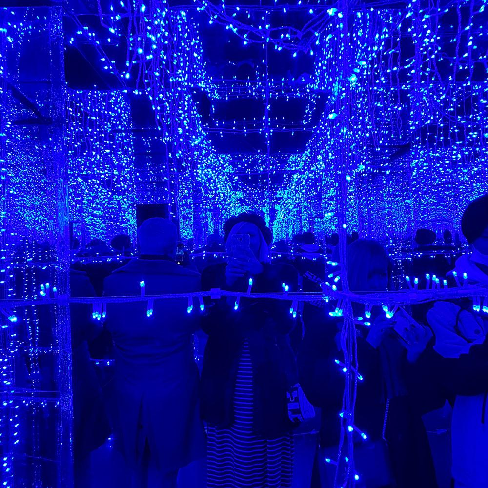 winter illuminations shibuya