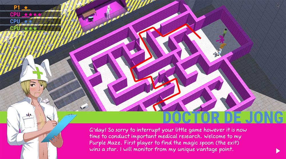 Hint Nine: Studying Dr DeJong's Purple Maze nippon marathon guide