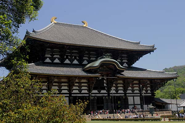 Todai-ji Temple, located in Nara Park. Image Source: Author's Own Image.