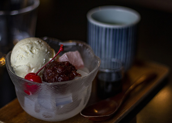 Anmitsu, a traditional dessert and a must have whilst in Yanesen. Image source: Author's Own Image