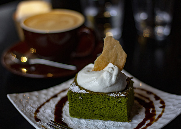 Anmitsu not to your taste? How about a slice of Matcha Cake? Image source: Author's Own Image