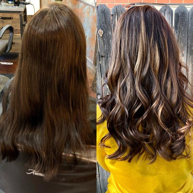 Beautiful caramel and chocolate colors bring depth and dimension into these beautiful long locks. ⠀⠀⠀⠀⠀⠀⠀⠀⠀ ⠀⠀⠀⠀⠀⠀⠀⠀⠀ ⠀⠀⠀⠀⠀⠀⠀⠀⠀ ⠀⠀⠀⠀⠀⠀⠀⠀⠀ ⠀⠀⠀⠀⠀⠀⠀⠀⠀ ⠀⠀⠀⠀⠀⠀⠀⠀⠀ Sent via @planoly #planoly #colors #hair #hairstyles #haircolor #bayalage #fortcollins #behindthechair #beforeandafter #hairinspo #highlights #highlight #caramelhighlights #beforeandafter #hairtransformation #salon #coloradosalon #fortcollins