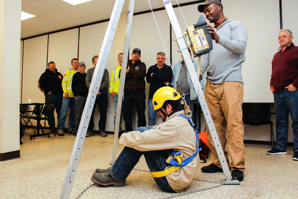 Confined Space — Detroit Training Center
