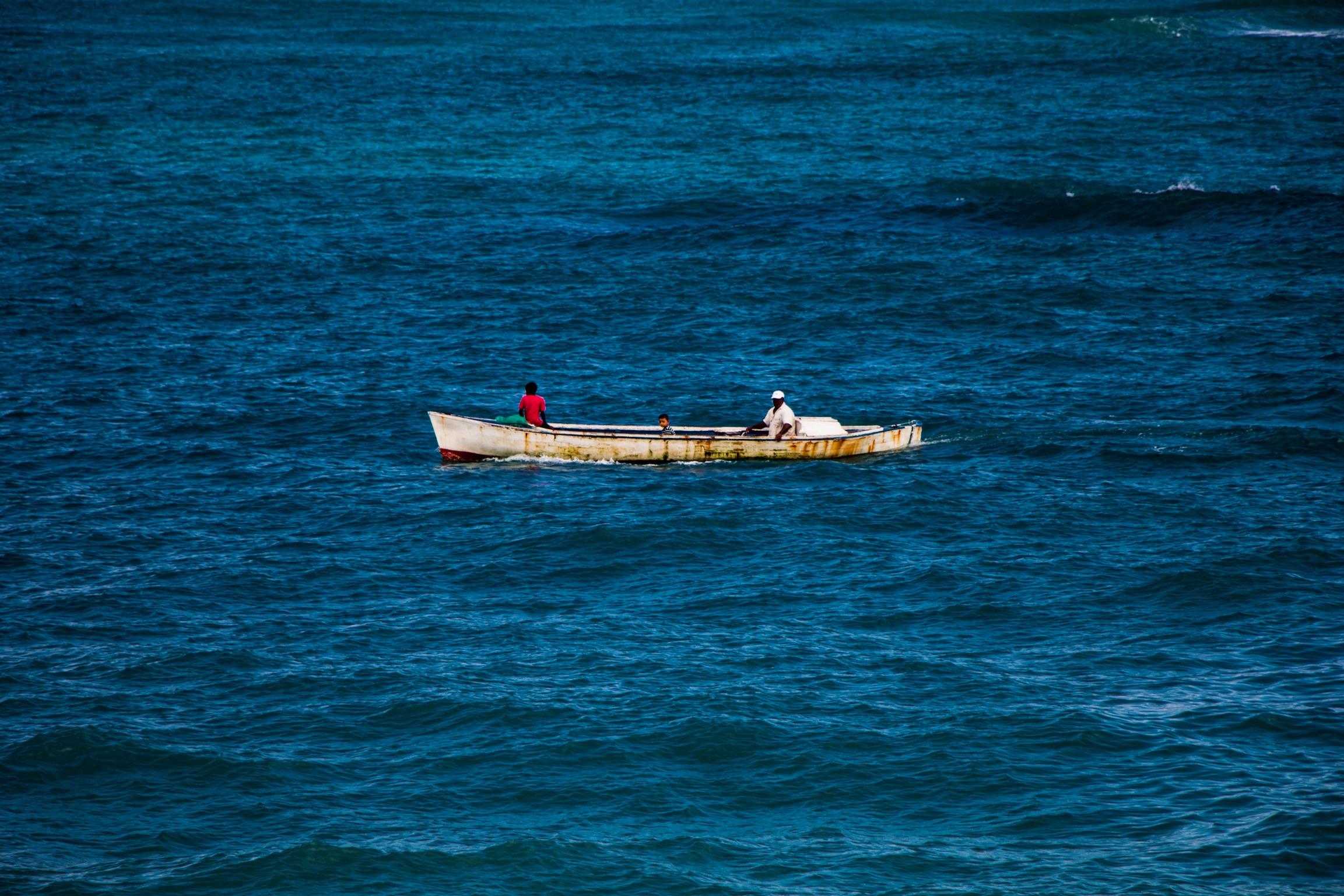 Fishing in Roatan