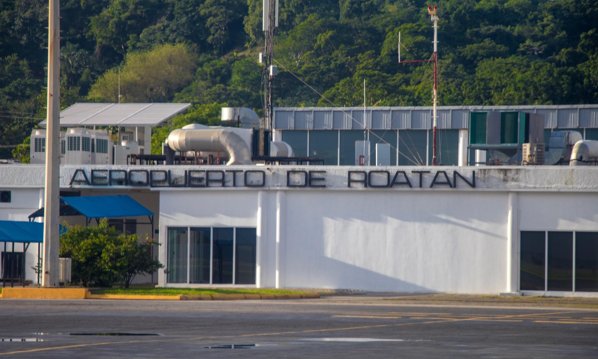 Roatan Airport Tarmac