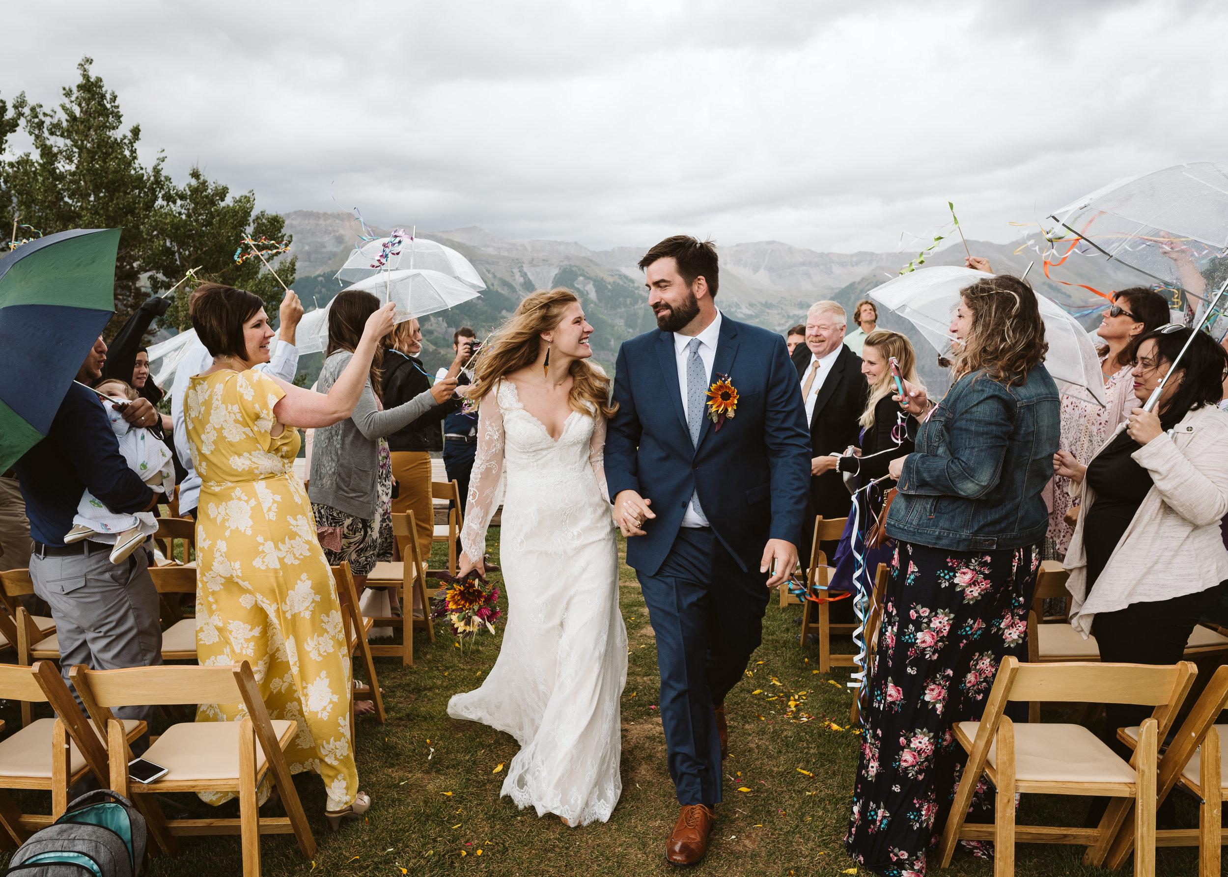 Whitney & Dan - Rainy Mountain Wedding