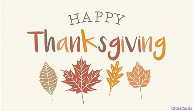 Happy Thanksgiving from our family to yours!