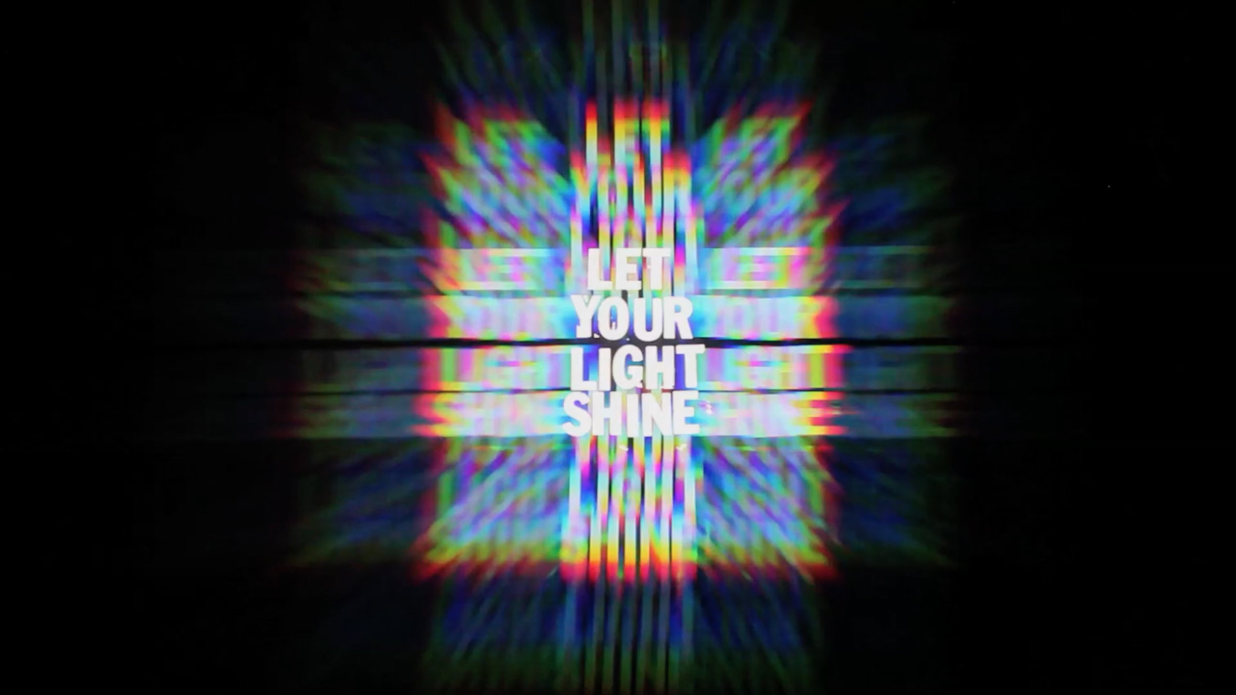 """""""LetYourLightShine"""", Image courtesy of FAR OUT FILM FEST"""