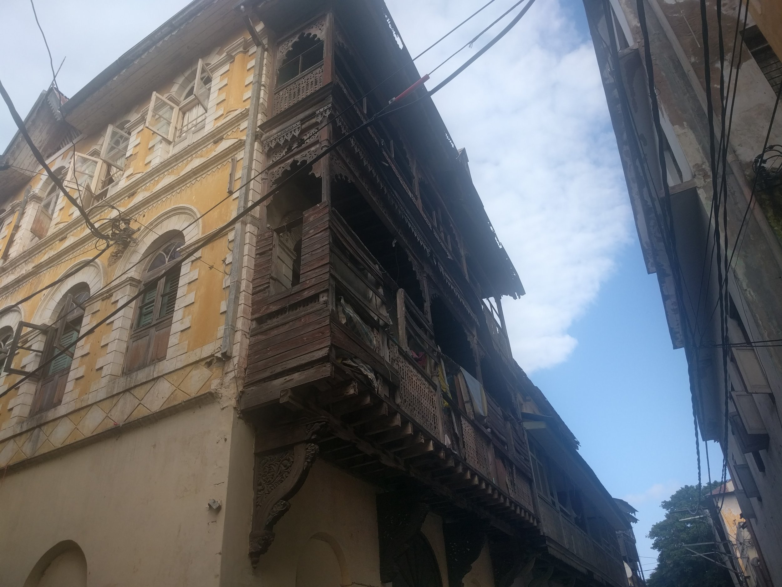 Mombasa was full of ancient buildings reminiscent of when it was a Portuguese colony. You'll feel like Indiana Jones walking through a lost city here.