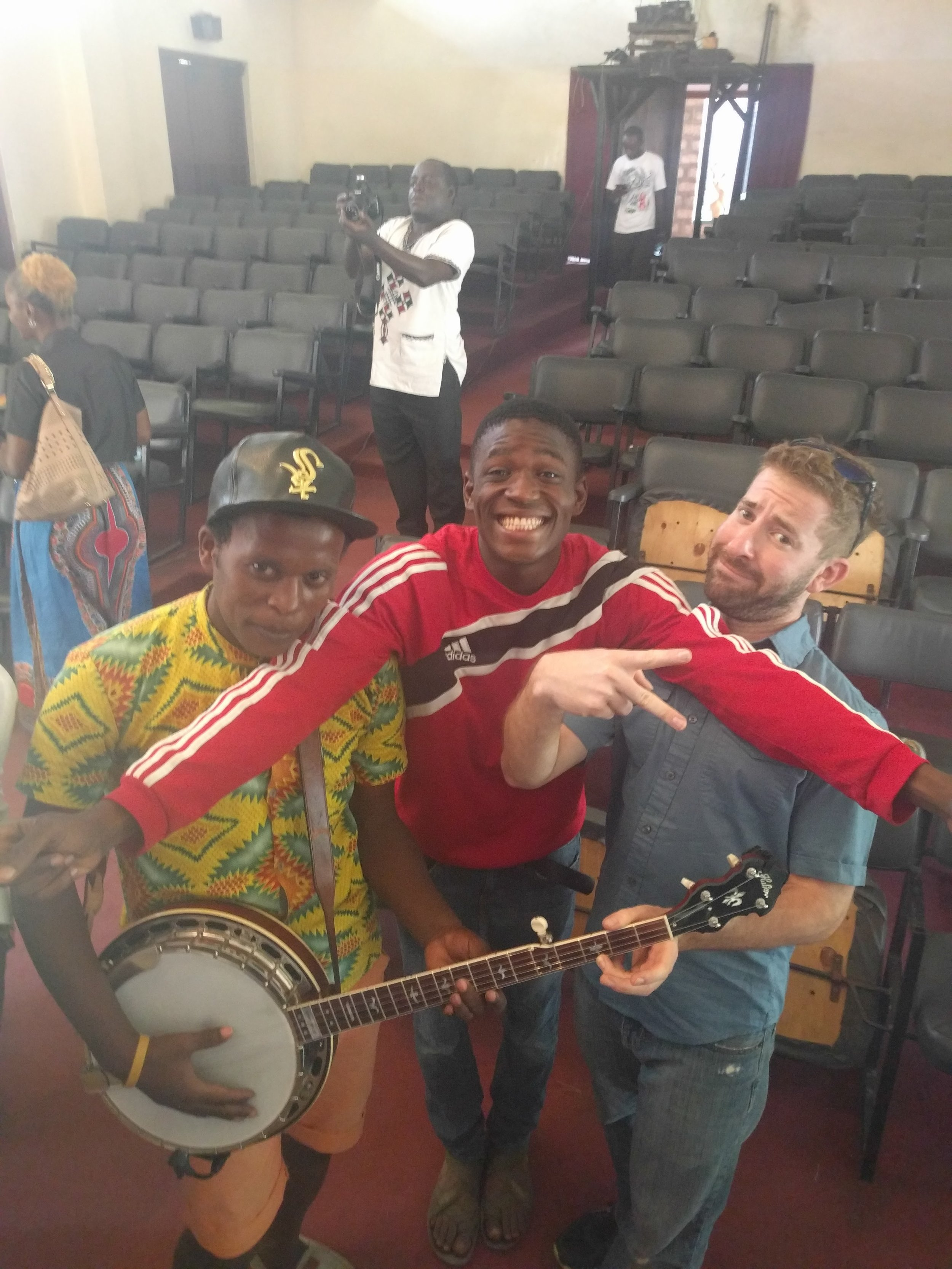 The banjo gets a lot of attention in much of Africa because it's almost never seen. There's some serious irony in that statement, since its roots couldn't be more firmly planted there.