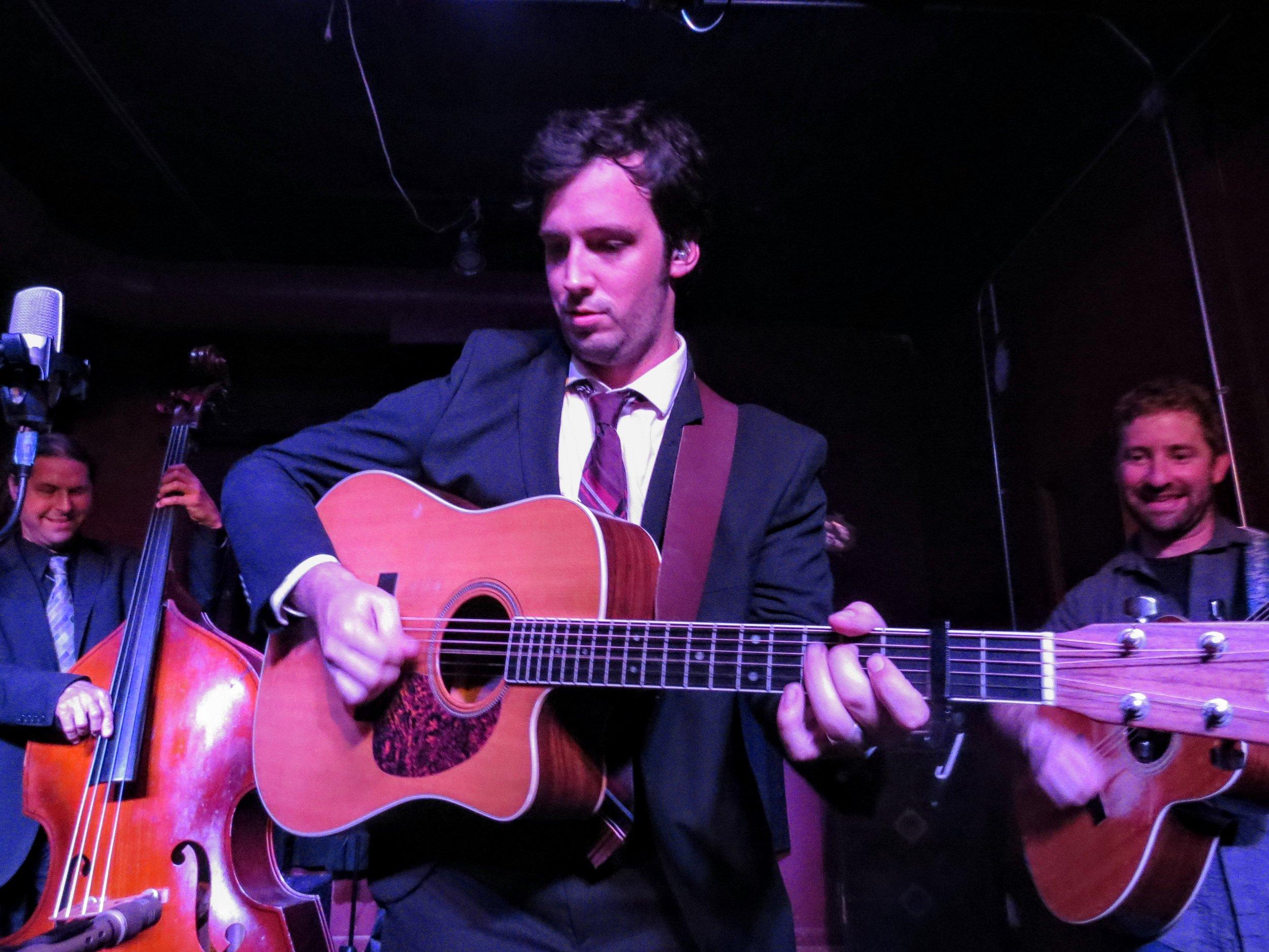 Aaron Dorfman and Chris Dollar shredded guitar all night long!