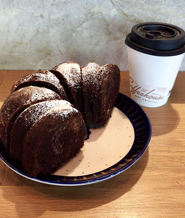 Today we celebrate a staple in the Coffeehouse at Caroline's pastry case: Chocolate Zucchini Bread! 🙌 This chocolatey goodness is available every day & tastes extra sweet on #nationalzucchinibreadday! #coffeehouseatcaroline