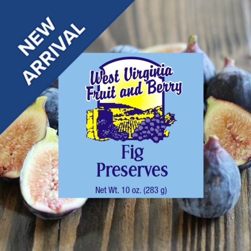 You've asked for it, so we've created our newest preserve variety, FIG!!! available now! - All Natural Fig Preserves. As always, NO corn syrup, NO additives, NO preservatives. Online Orders Only.