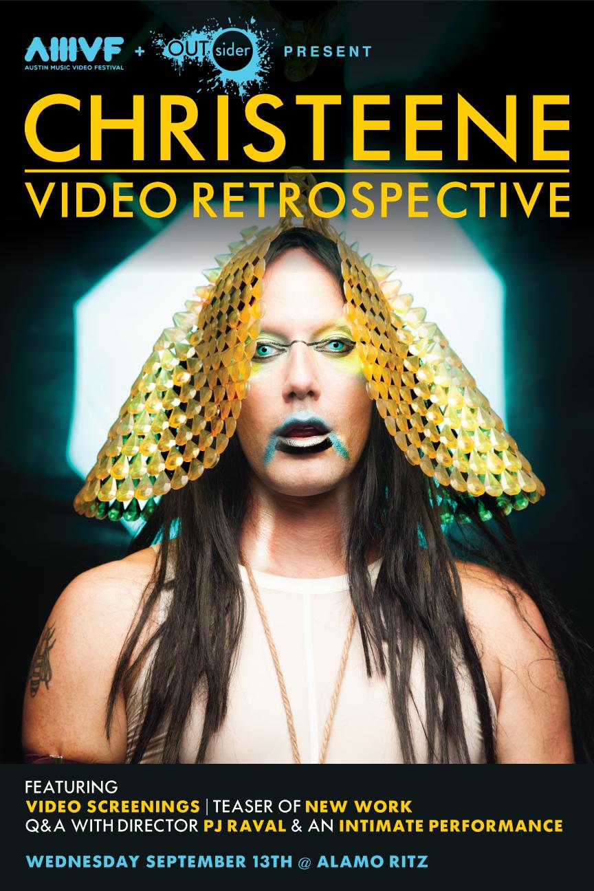 CHRISTEENE MUSIC VIDEO RETROSPECTIVE + PERFORMANCE + Q&A