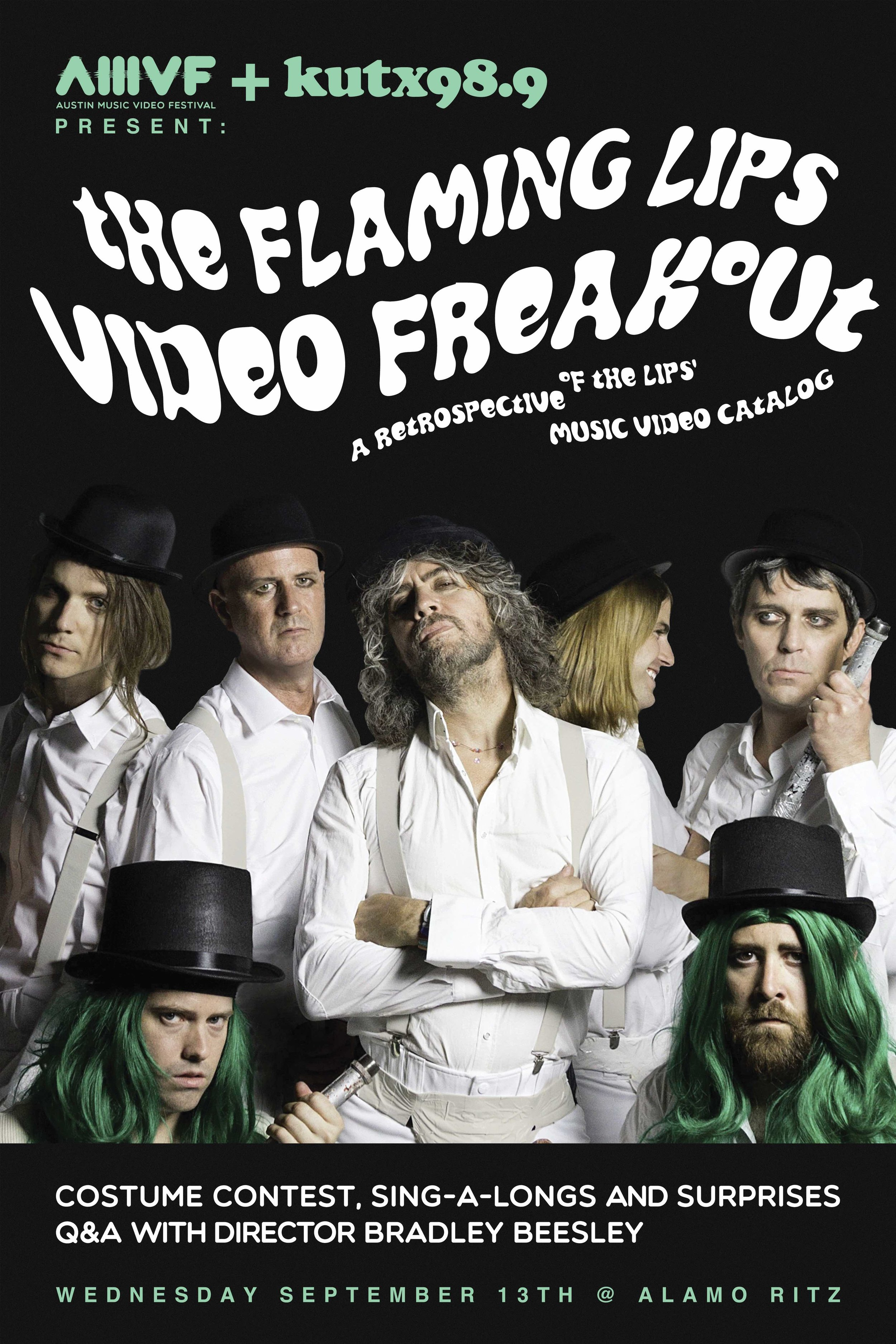 FLAMING LIPS VIDEO FREAKOUT