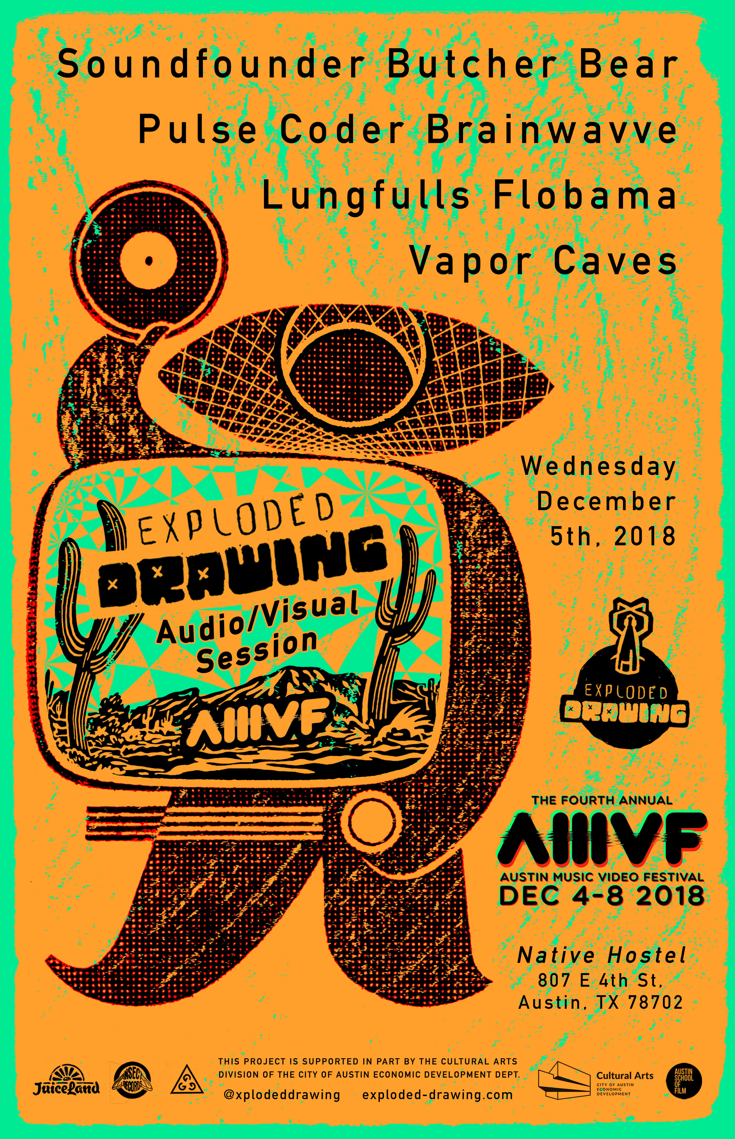 Exploded Drawing @AMVFest4