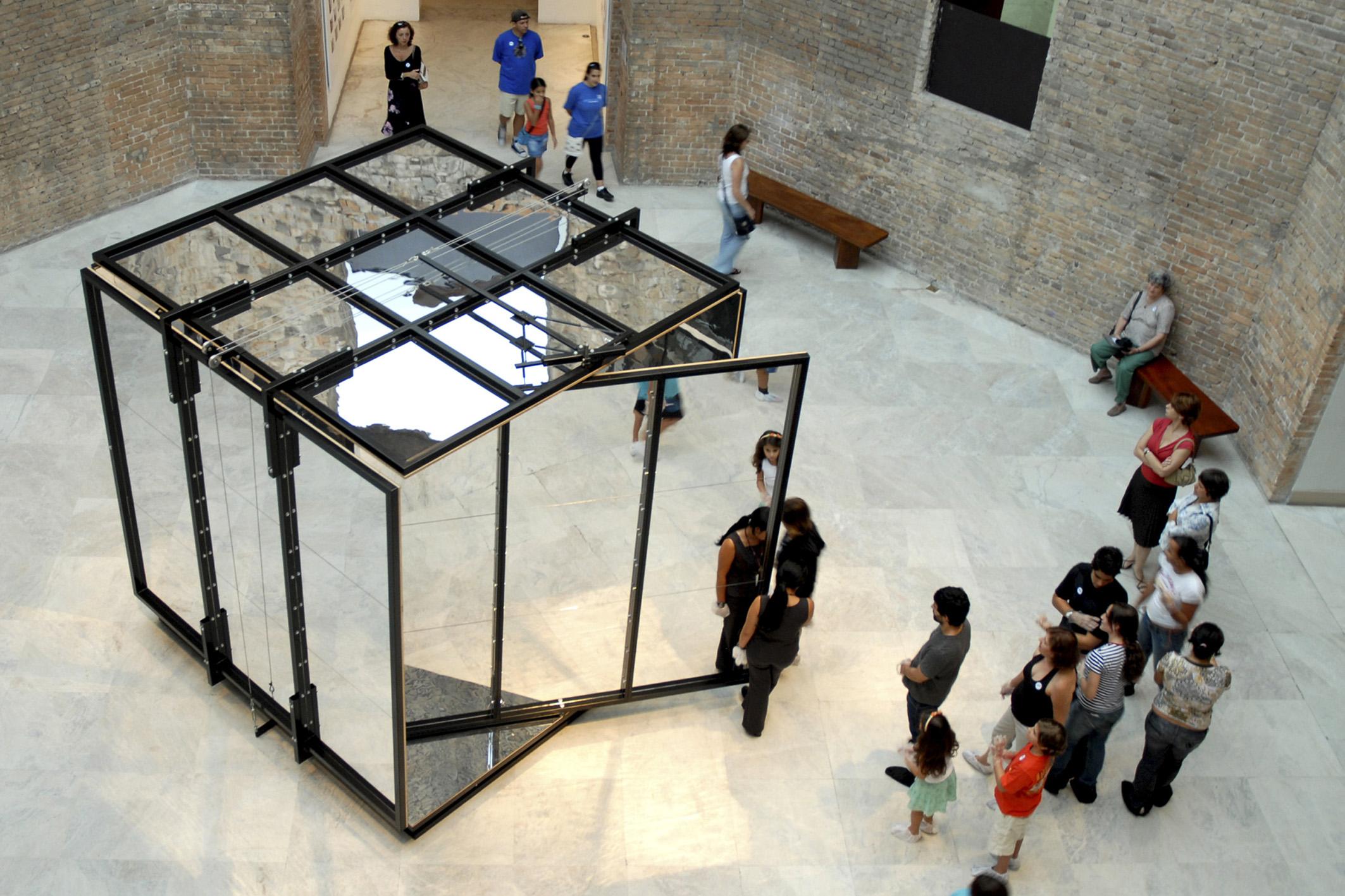 infinite cubed | infinito ao cubo    @ pinacoteca 2007   + expo