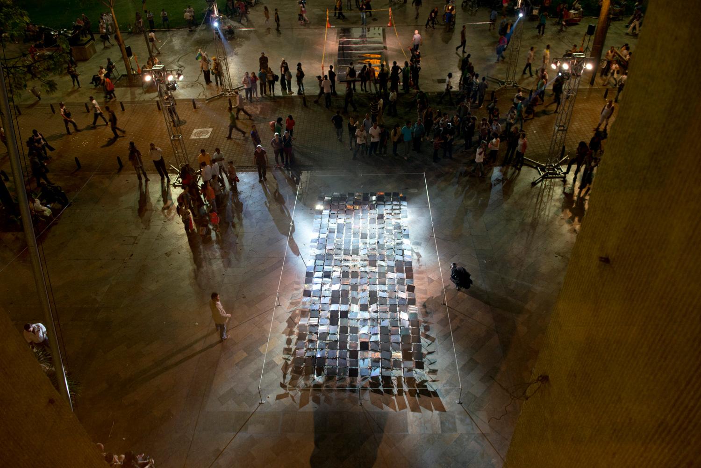 hanging garden | jardim suspenso    @ museu de antioquia 2014   + expo
