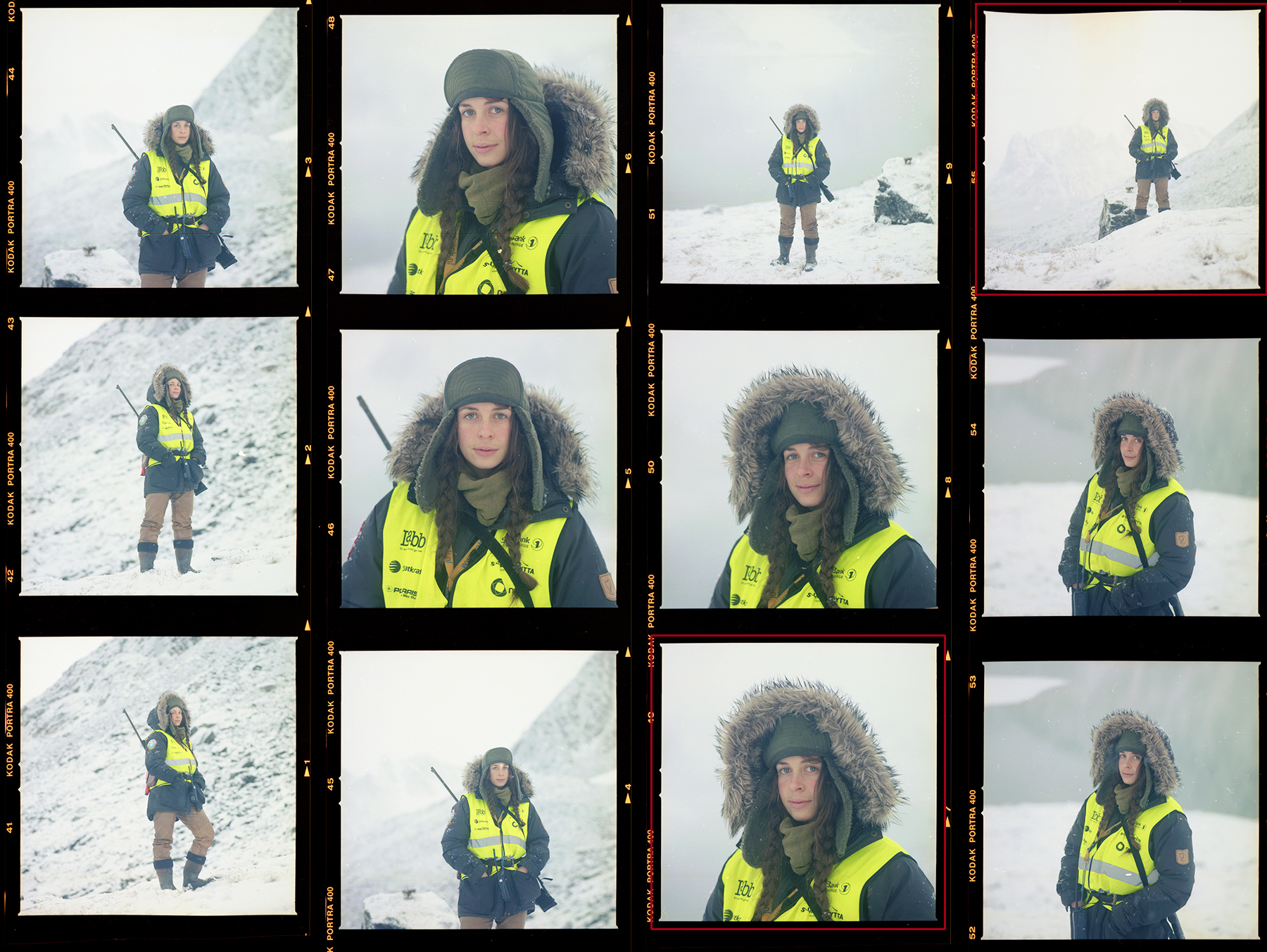 Kristin Kristin Jæger Wexsahl, Guide, Arctic Circle Residency , Magdalenafjord, Svalbard Norway. Guide, Arctic Circle Residency. Photographs © Shoshannah White 2015