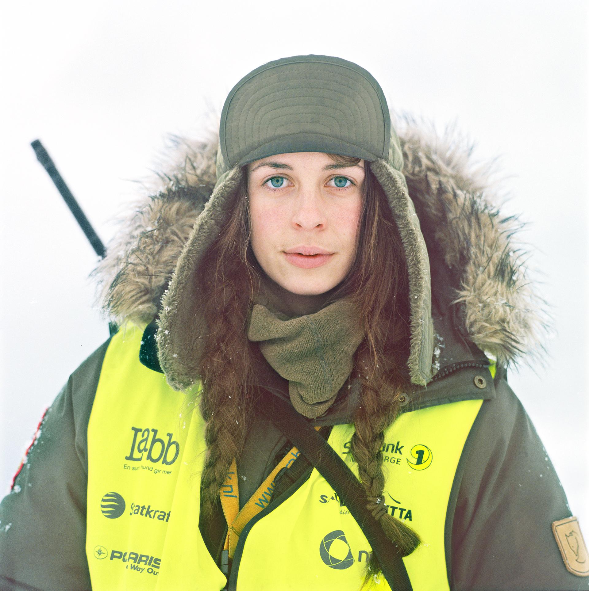 Kristin Jæger Wexsahl, Guide, Arctic Circle Residency . Photograph © Shoshannah White 2015