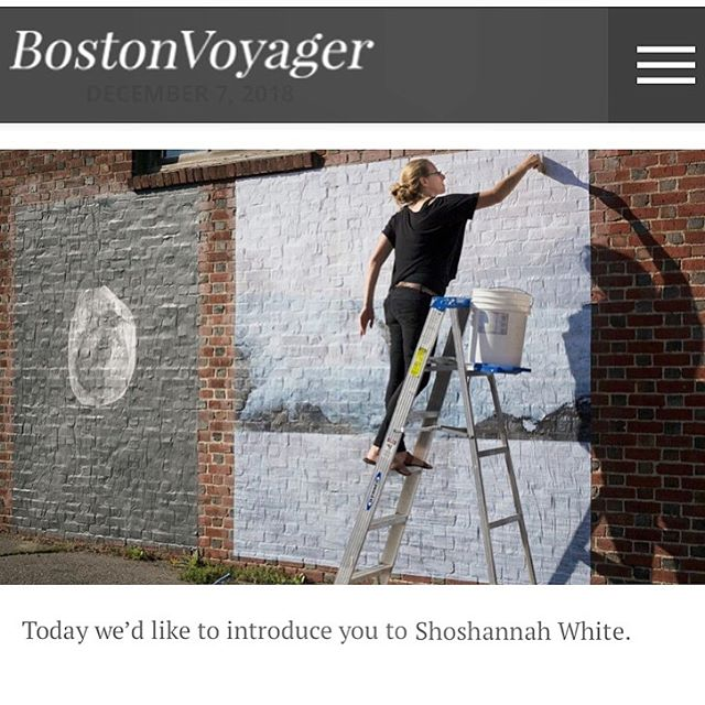 thank you @bostonvoyager it's a total honor to have my work on your radar!  check out the interview here: bostonvoyager.com/interview/meet-shoshannah-white/ . . #climatechange #arctic #arcticcircleresidency #arcticcircle #glacierice #photogram #wheatpaste #contemporaryart #environmentalart
