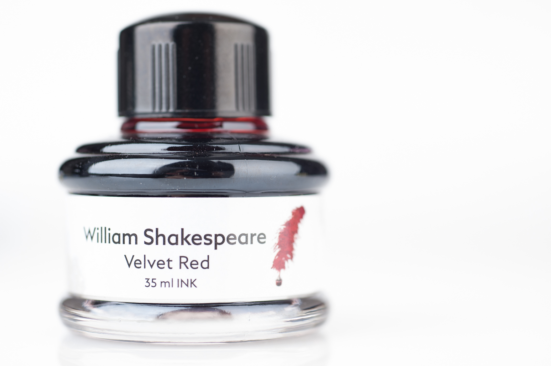 WriteeXperience Montblanc William Shakespeare Velvet Red Bottle