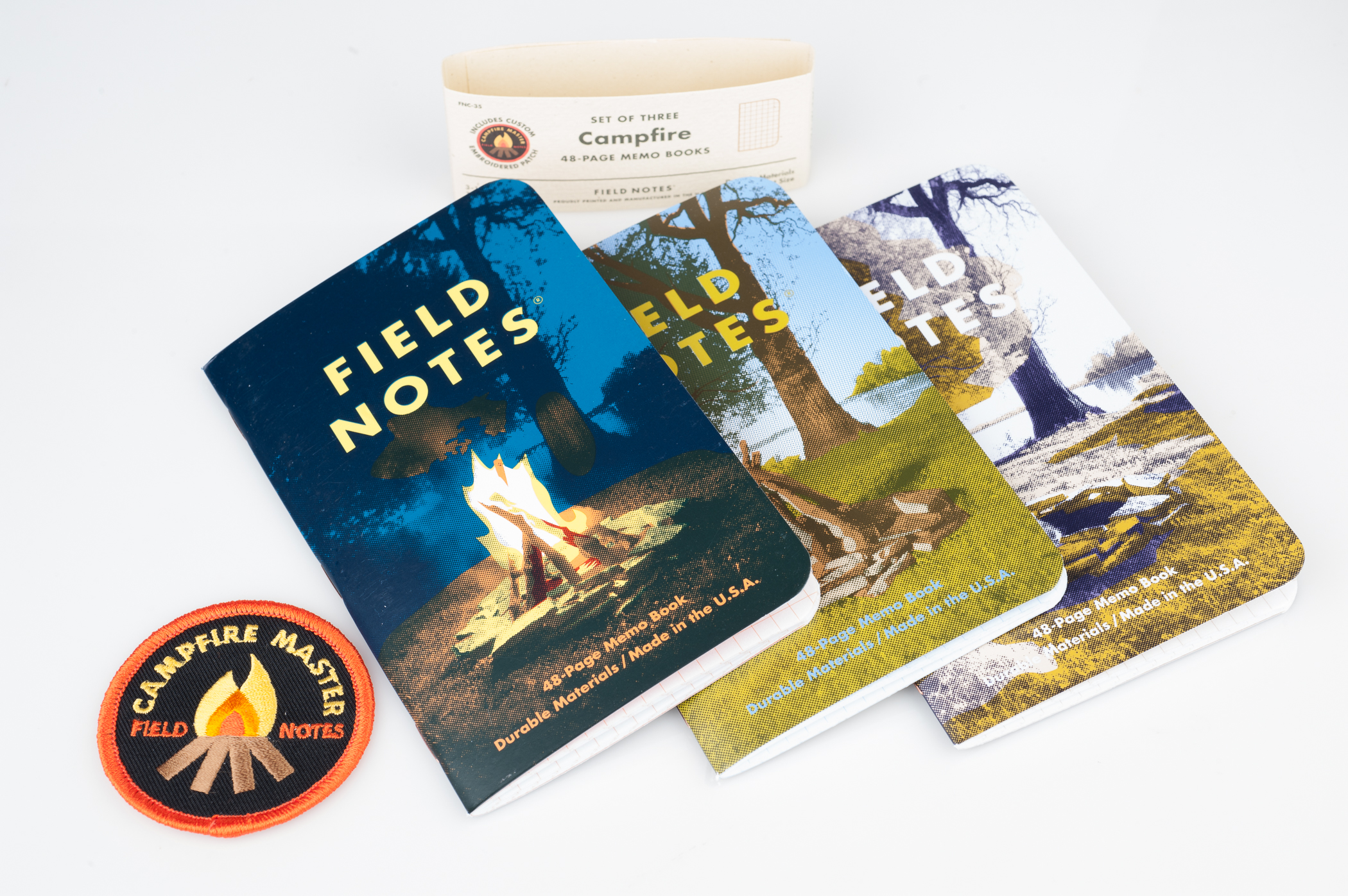 Field Notes Campfire Edition Covers