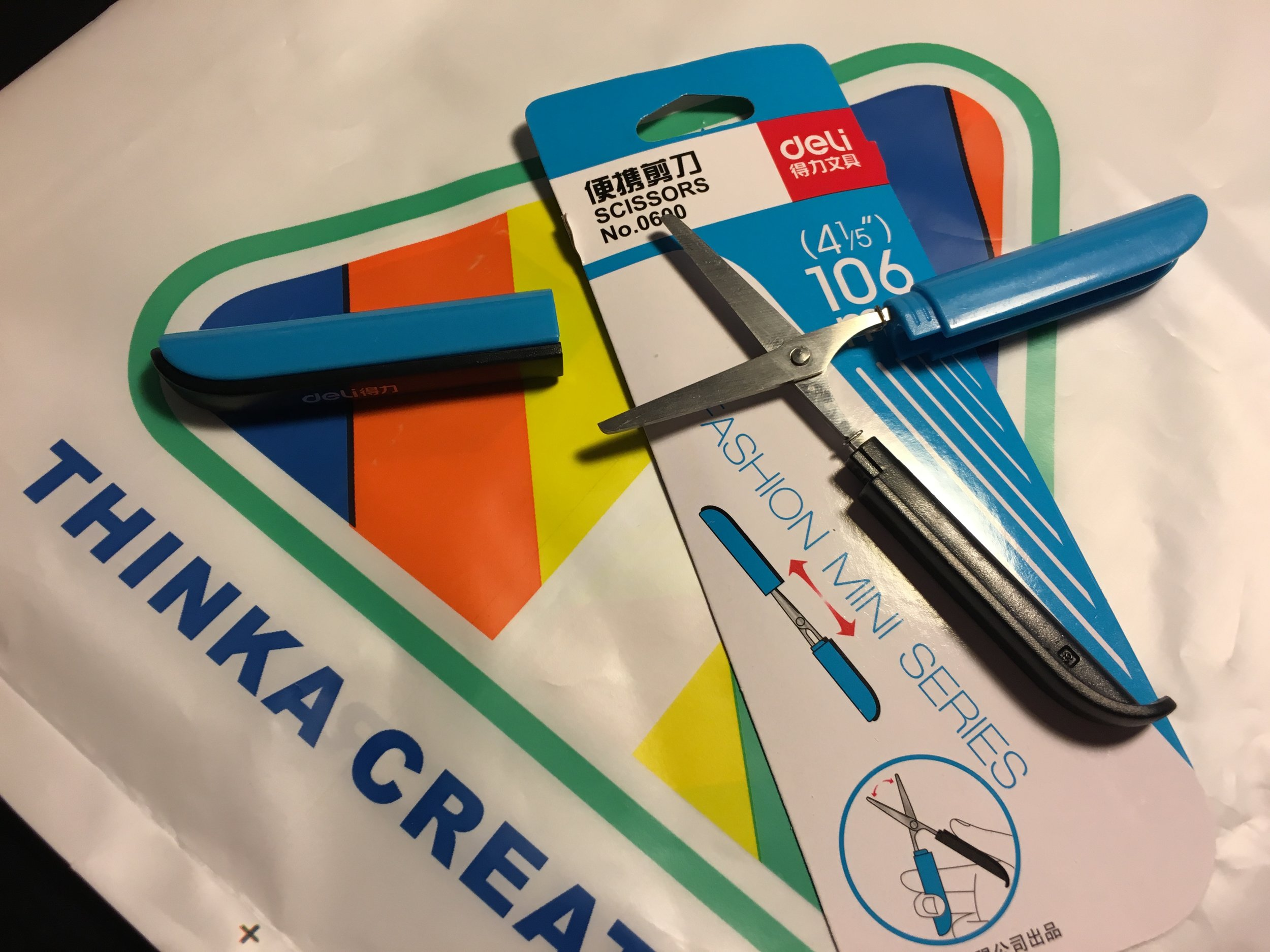 Deli folding scissors from Thinka Creative
