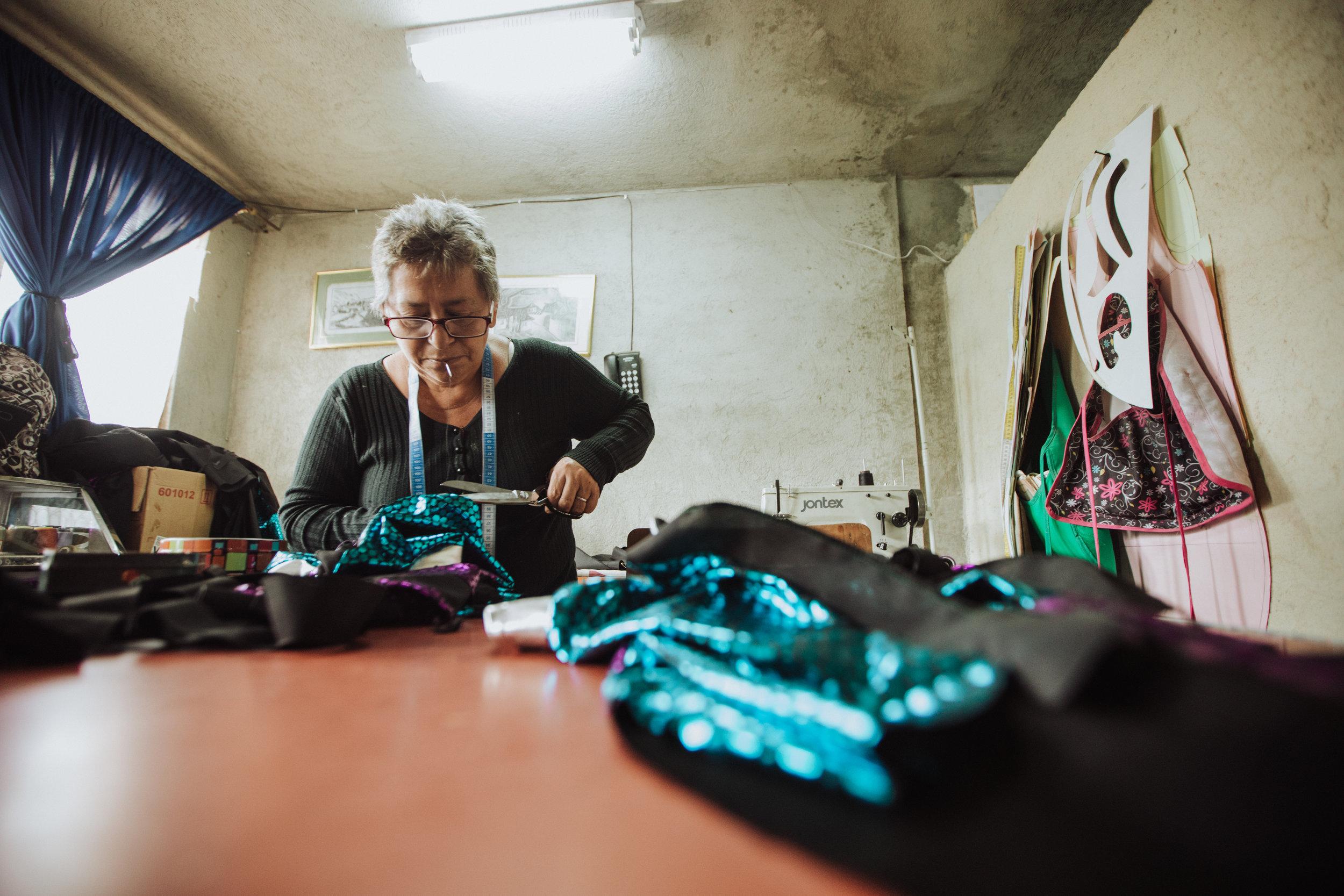 Fotos: Alejandra Muñoz, Madre de Héctor confeccionado los disfraces, 2018.
