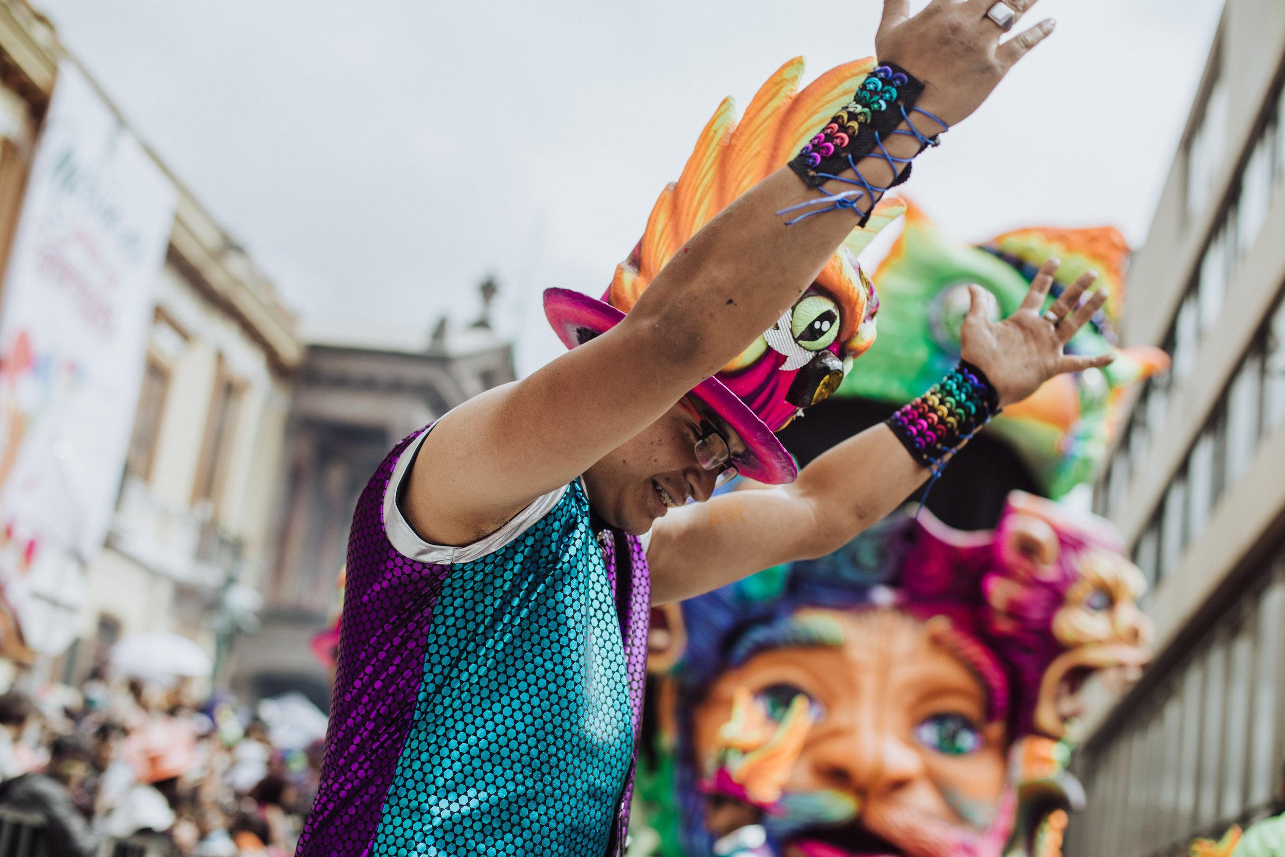 Fotos: Alejandra Muñoz, Día del Gran Desfile Magno, 2018.