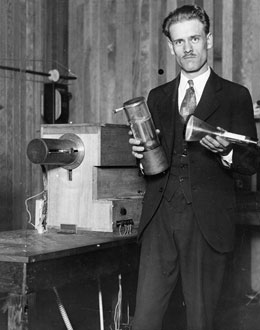 1927- Philo T. Farnsworth