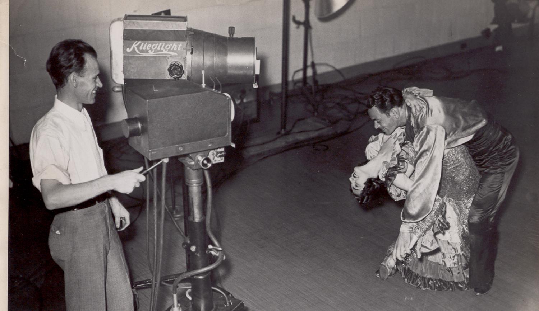1935- Farnsworth at The Franklin Institute