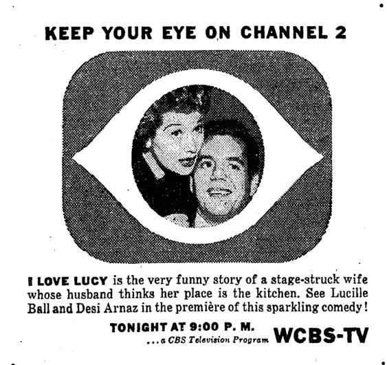 1951- I Love Lucy