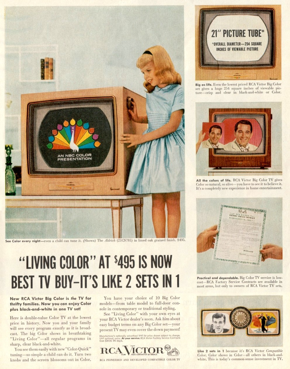 1954- Color TV