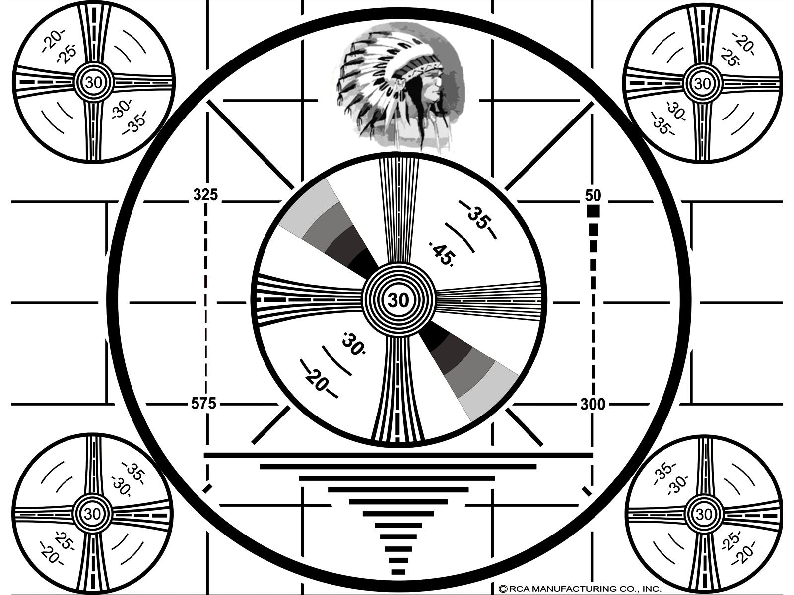 1939-  Indian Head Test Pattern
