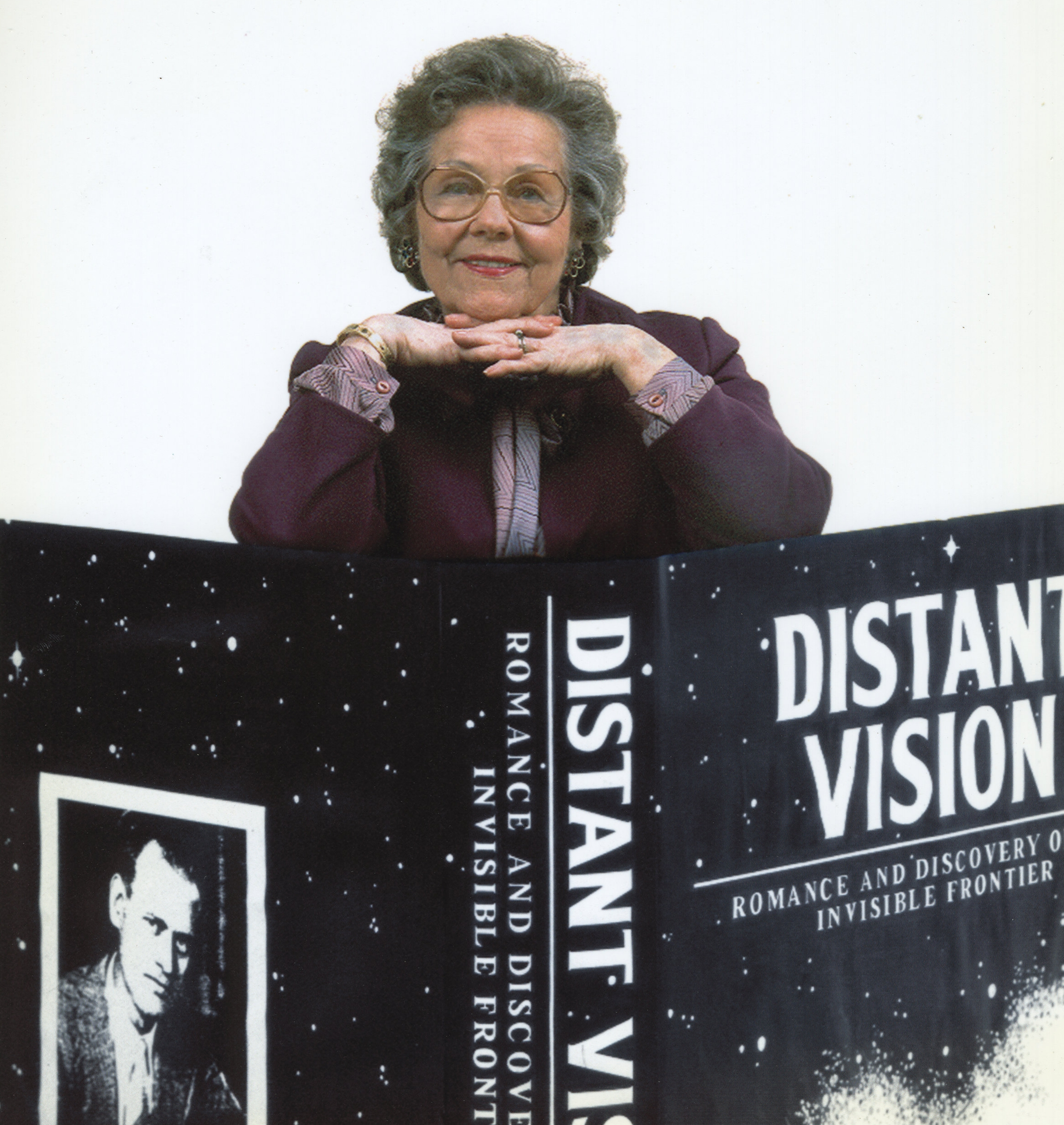 "Pem Farnsworth's autobiography, ""Distant Vision: Romance and Discovery On An Invisible Frontier,"" is a revealing portrayal of Pem's life with the man who invented television."